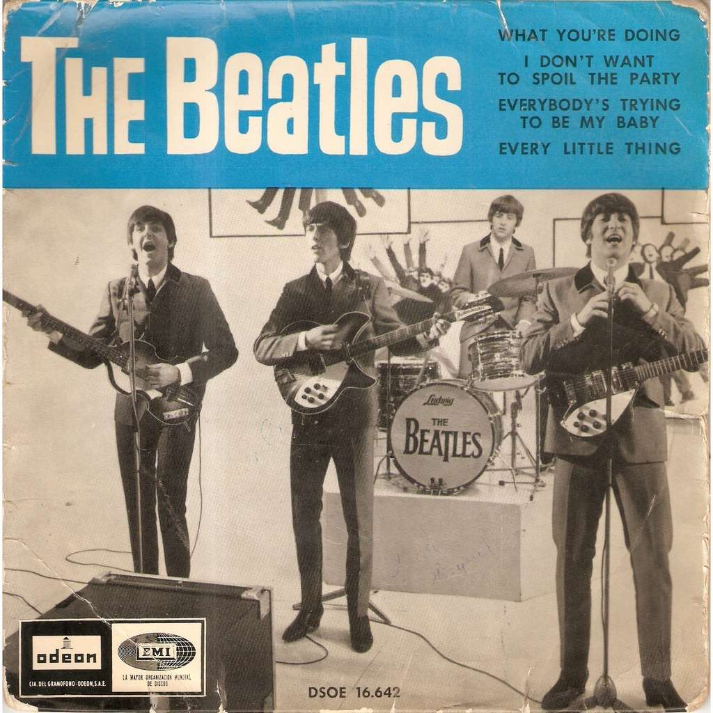 BEATLES WHAT YOU'RE DOING