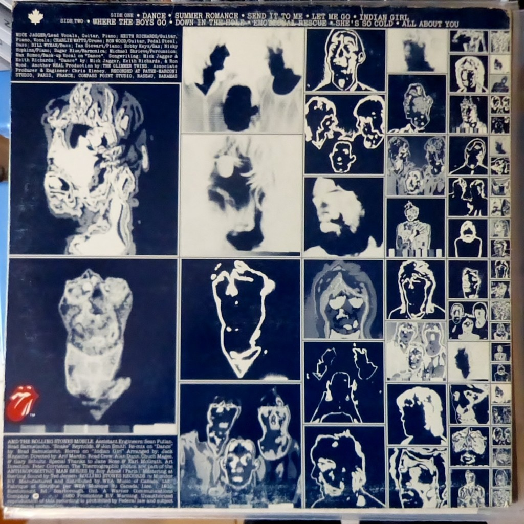 Emotional Rescue By The Rolling Stones Lp With