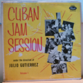 JULIO GUTIERREZ - Cuban jam session volume 1 - LP