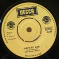 AKWABOA'S BAND - Papaye asa / Progress party - 7inch (SP)
