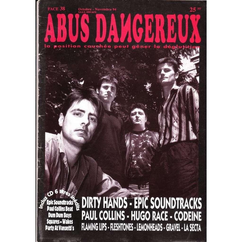 ABUS DANGEREUX Face 38. Octobre-Novembre 94