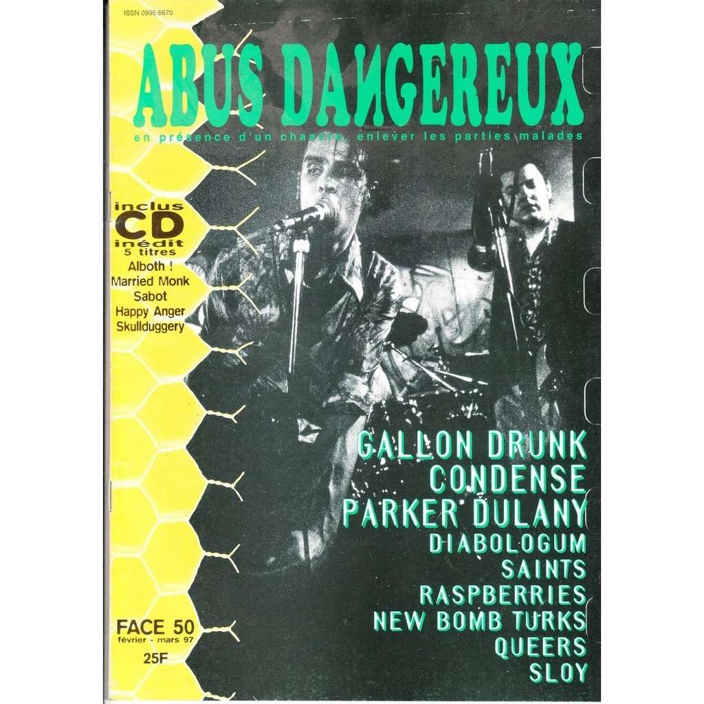 ABUS DANGEREUX Face 50. fevrier-mars 97