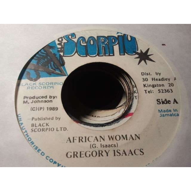 gregory isaacs 'AFRICAN WOMAN' ORIG.