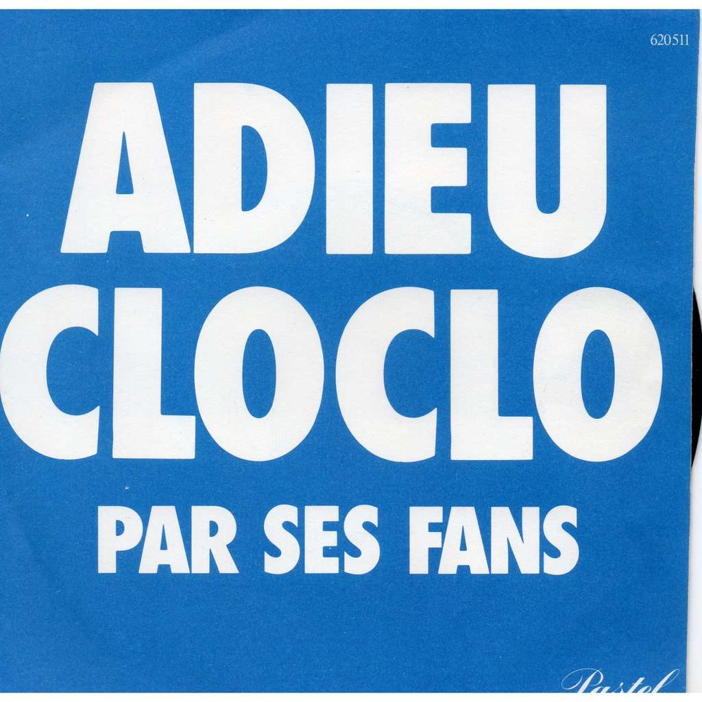 claude françois adieu cloclo+1