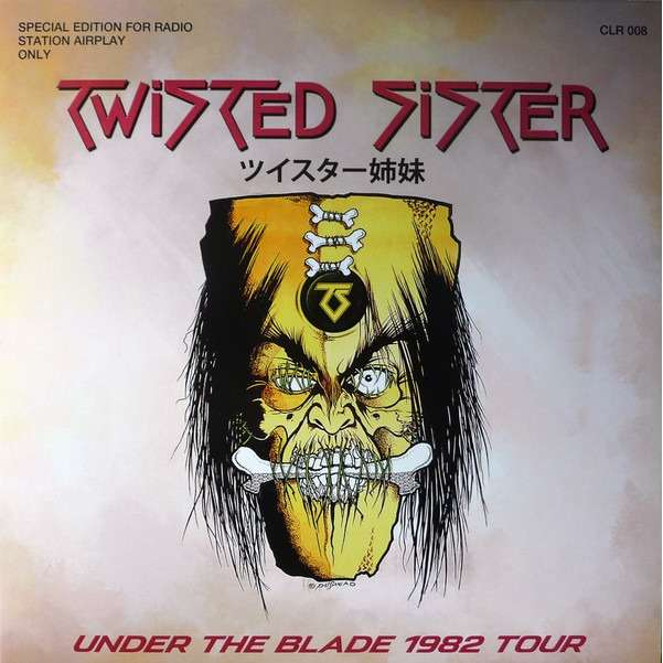 Twisted Sister Under The Blade 1982 Tour (lp) Ltd Edit -E.U