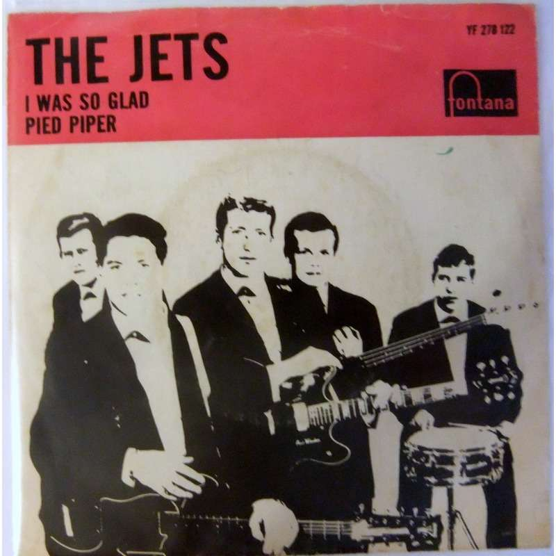 the jets i was so glad / pied piper