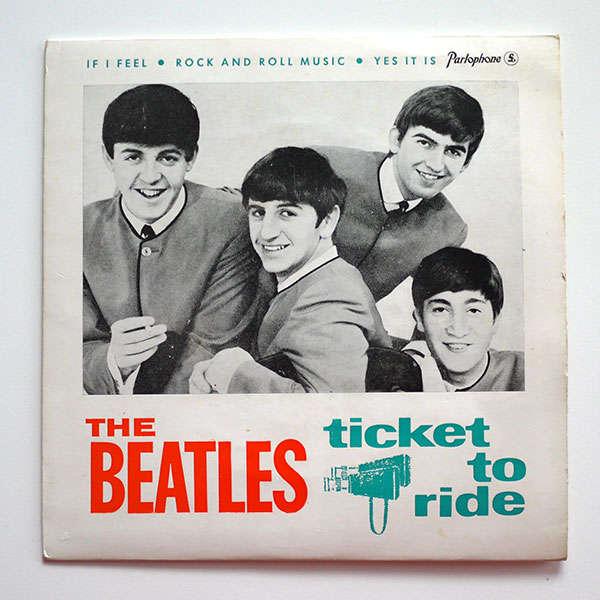 Ticket To Ride De The Beatles Ep Chez Chapichapo Record