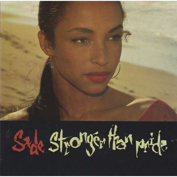 SADE - STRONGER THAN PRIDE (U.K. PRESSING 1 CD)