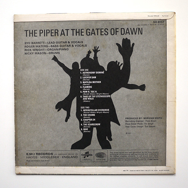 The Piper At The Gates Of Dawn Mono By Pink Floyd Lp