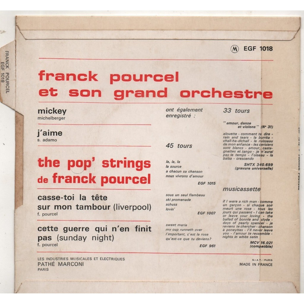 Mickey By Franck Pourcel Ep With Scubt01