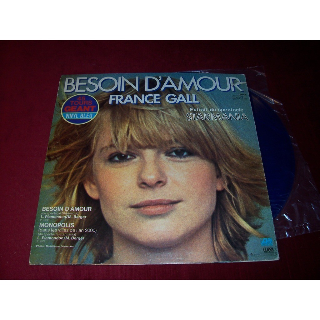 GALL FRANCE BESOIN D'AMOUR - BLUE WAX