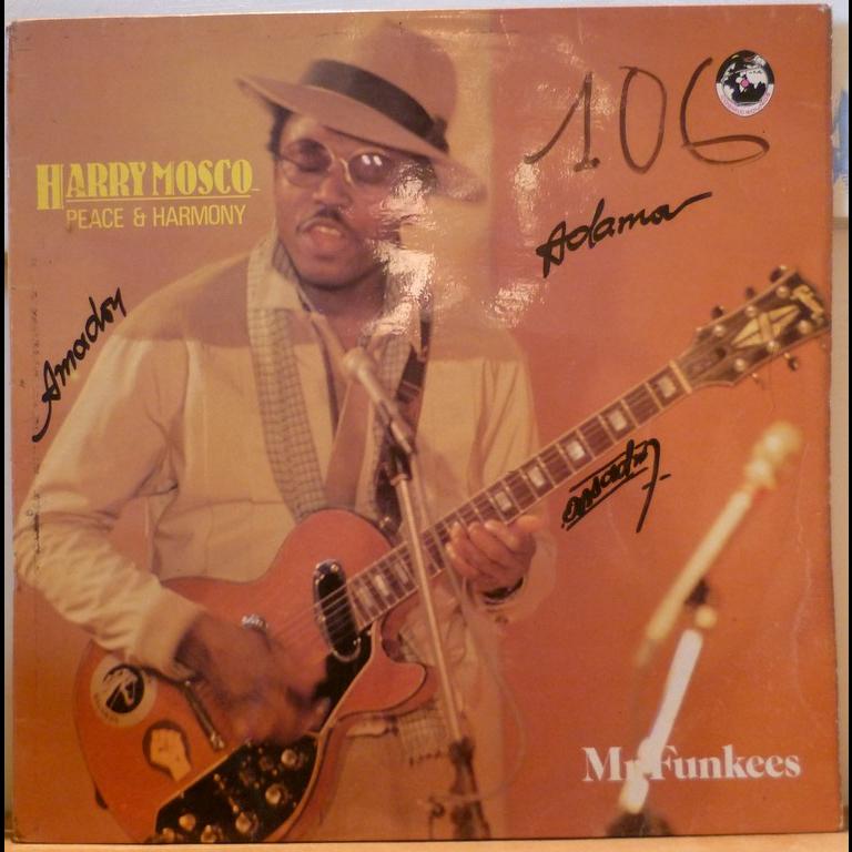 HARRY MOSCO Peace & harmony