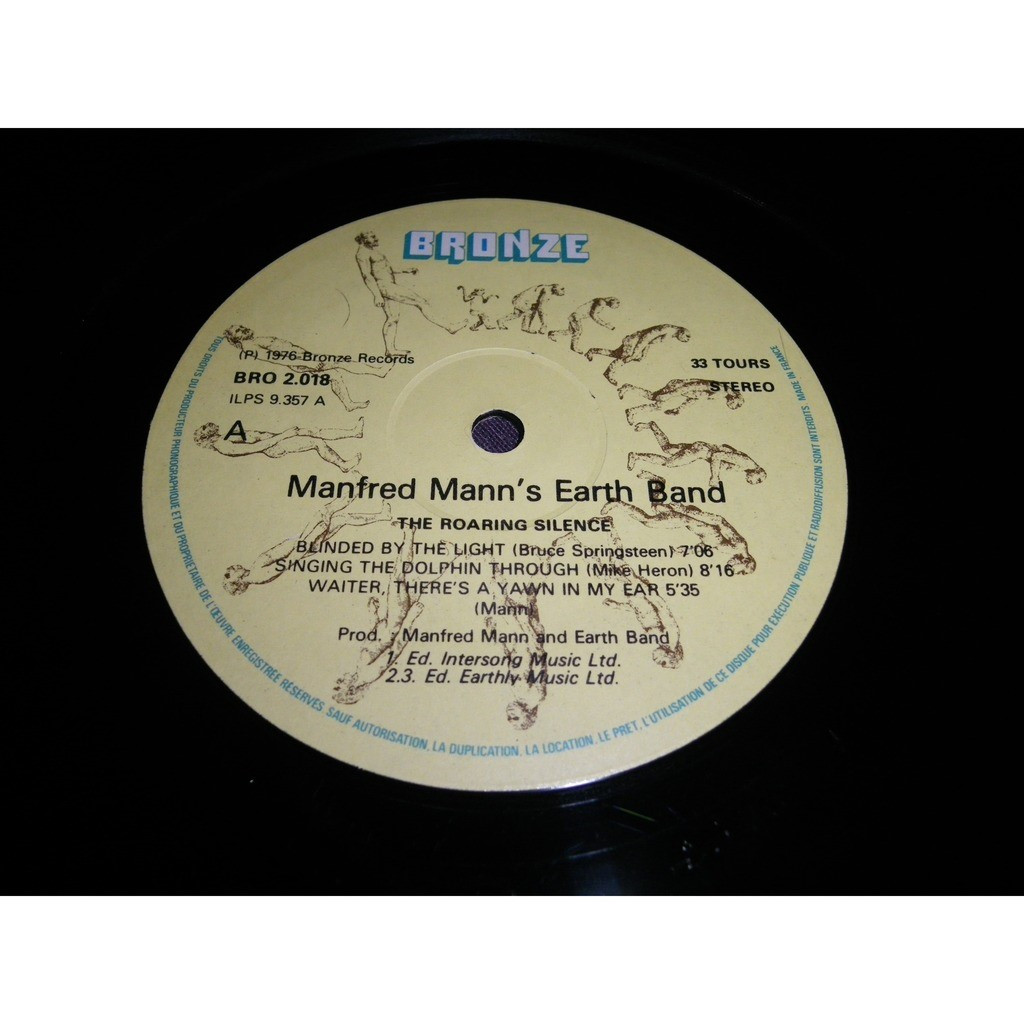manfred mann's earth band The roaring silence