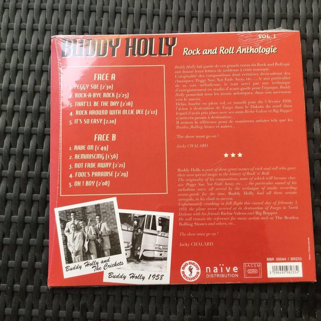 buddy holly anthologie volume 1