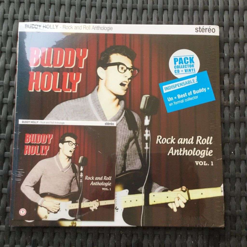 HVC MUSIC  BIG BEAT RECORDS : buddy holly anthologie volume 1 - 10 inch box