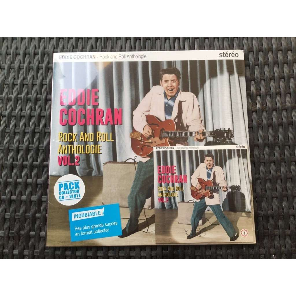 HVC MUSIC  BIG BEAT RECORDS : EDDIE-COCHRAN anthologie vol2 - 10 inch box