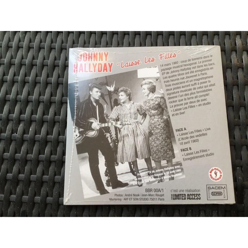 johnny hallyday 'laisse les filles' premiére tv + premier disc studio