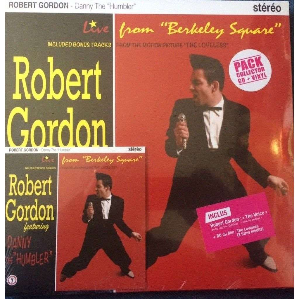 HVC MUSIC  BIG BEAT RECORDS : ROBERT GORDON DANNY the HUMBLER - 10 inch box