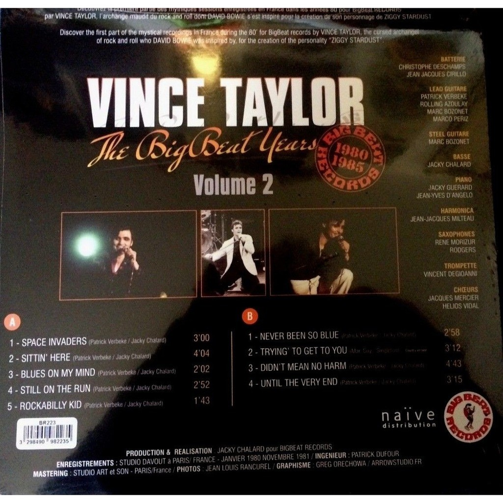 VINCE TAYLOR THE BIG BEAT YEARS Volume 2
