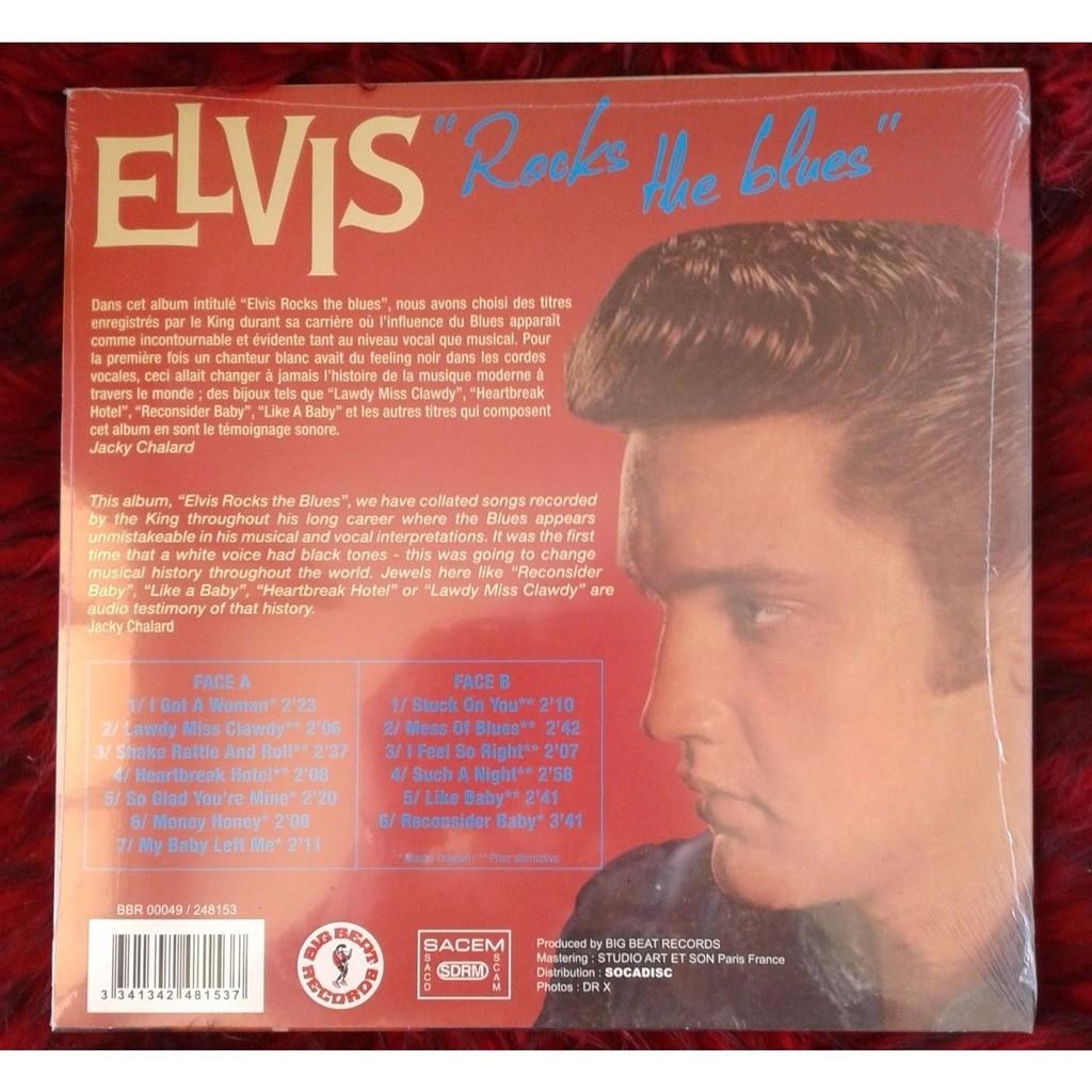 ELVIS-PRESLEY ELVIS ROCKS THE BLUES