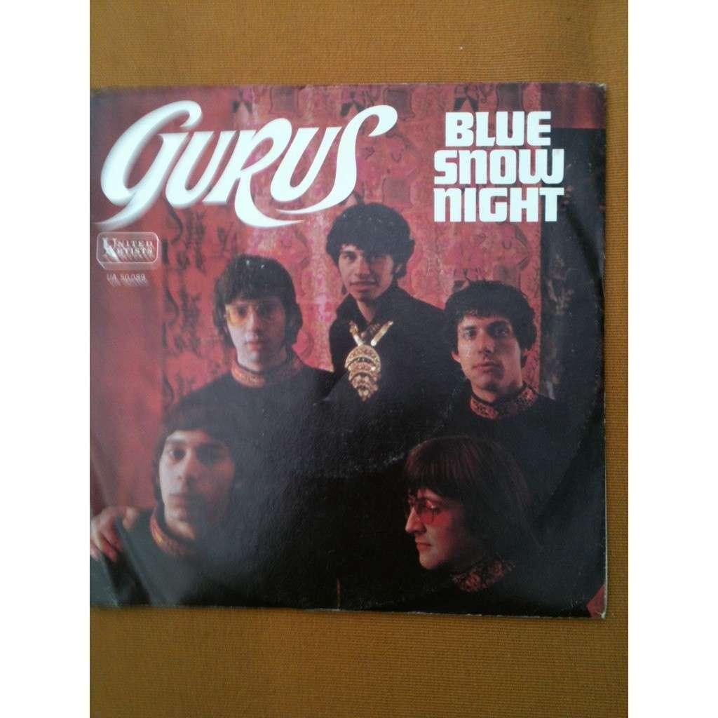 GURUS Blue snow night