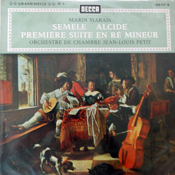 Orchestre de chambre jean-louis petit marin Marais