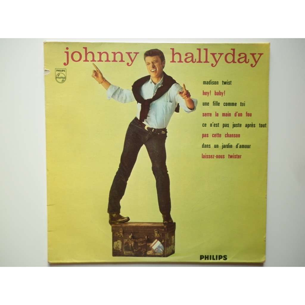 Johnny Hallyday Madison Twist N°3 stéréo réédition de 1981
