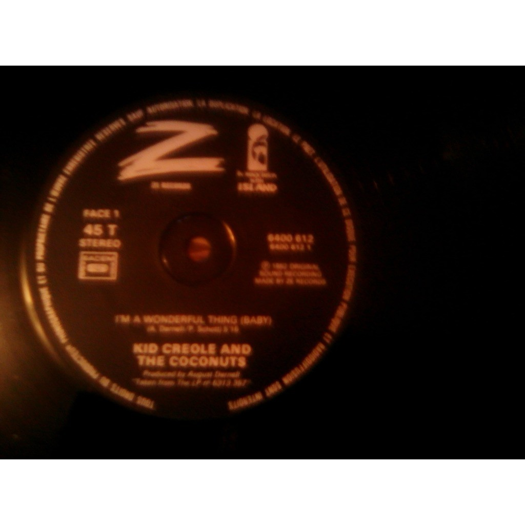 KID CREOLE AND THE COCONUTS I'M A WONDERFUL THING......Table Manners (Remix Version)