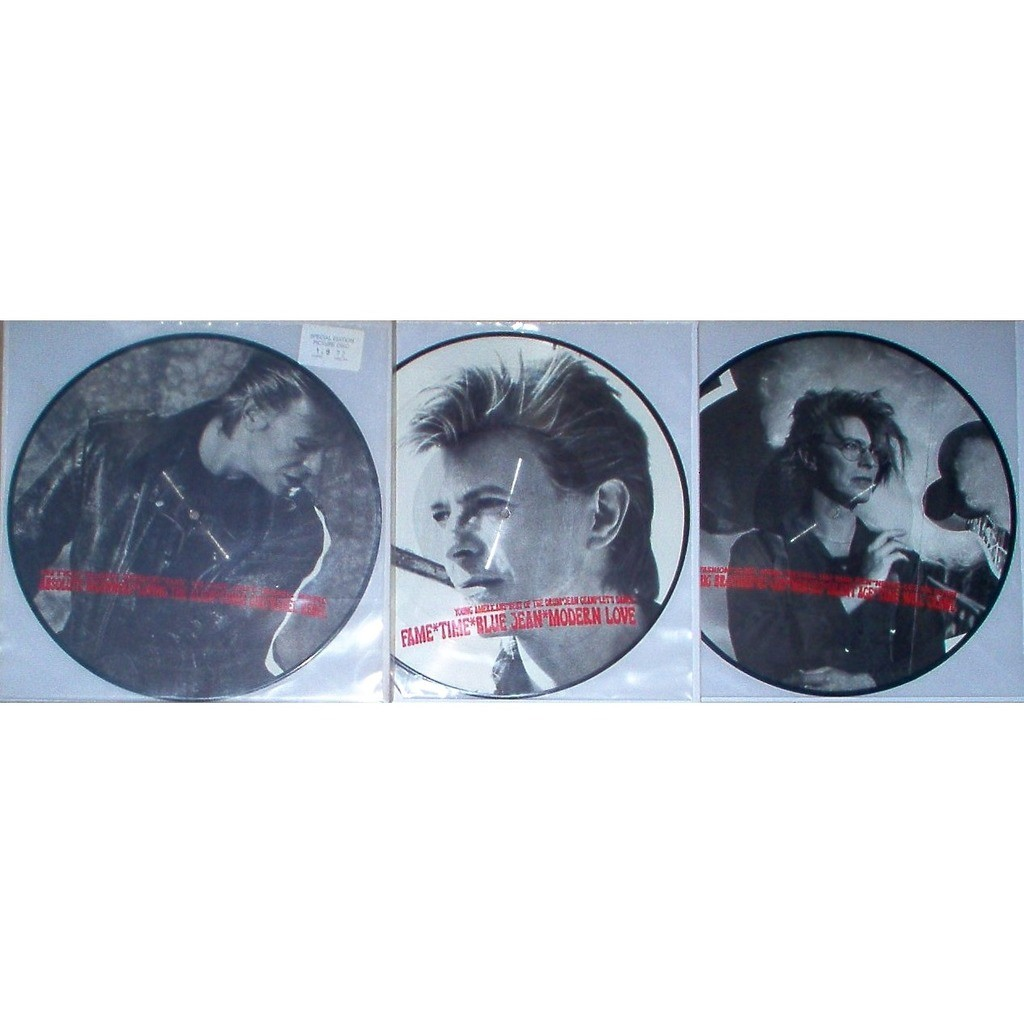 David Bowie :Welcome To The Show (Ltd 128 No'd copies live 3LP Picture Disc set stickered slv)