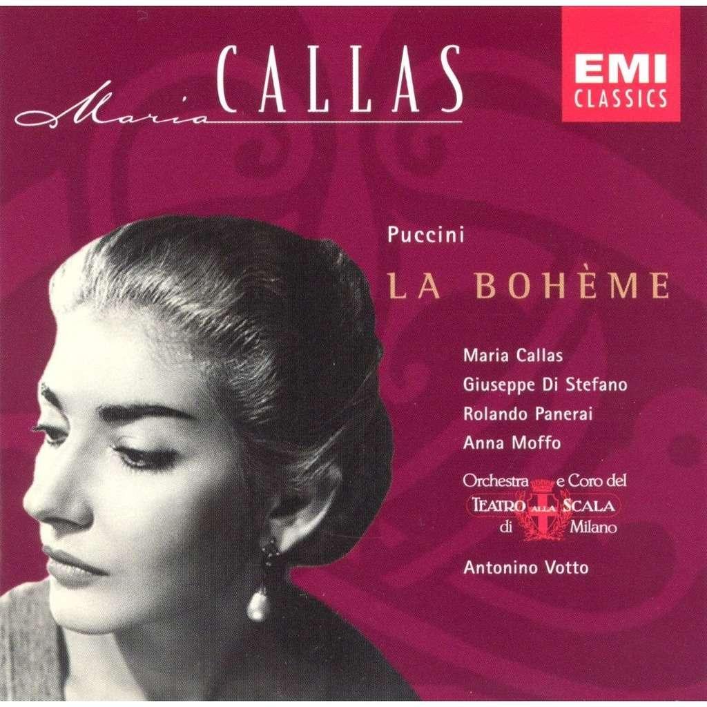 Puccini, Giacomo La Bohème (Highlights) / Maria Callas, Antonino Votto, Milan Teatro alla Scala Orchestra