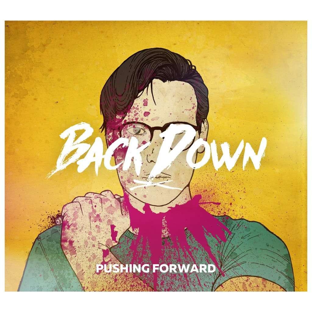 KNIVES OUT RECORDS : BACK DOWN Pushing Forward - CD
