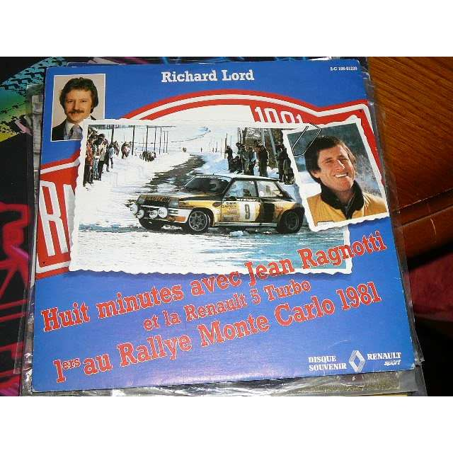 Jean Ragnotti & Richard Lord Mon Rallye Monte-Carlo 1981