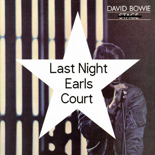 DAVID BOWIE Last Night At Earl's Court 1978