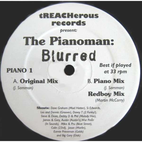 Pianoman Blurred