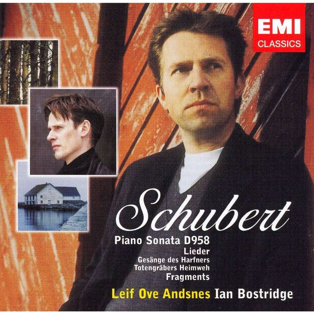 Schubert, Franz Piano Sonata D. 958; Lieder; Fragments / Leif Ove Andsnes, Ian Bostridge