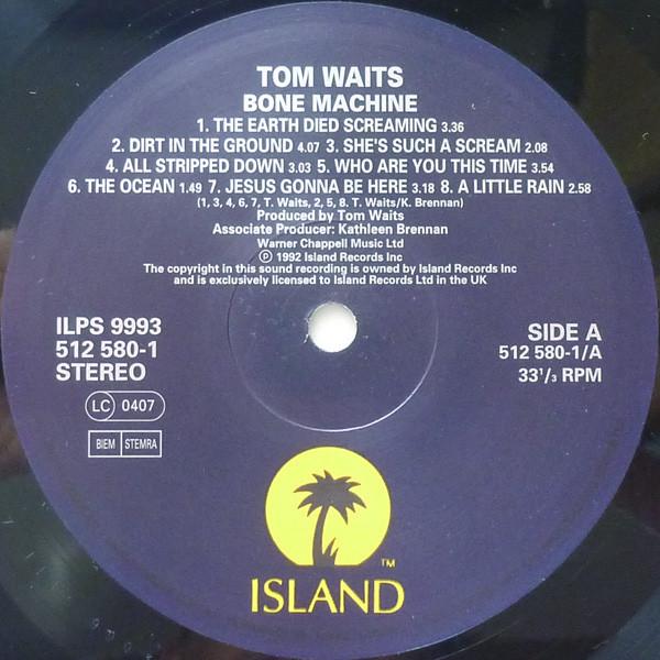tom waits bone machine