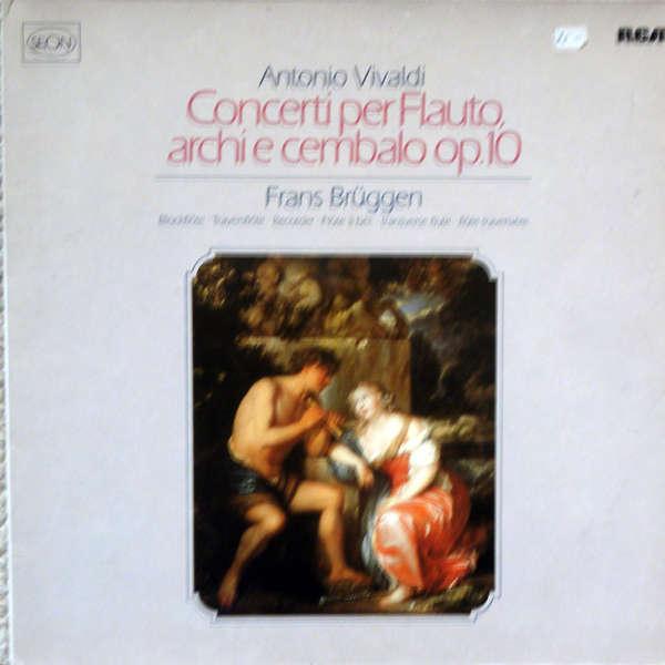 frans brüggen Vivaldi : Concerti per flauto