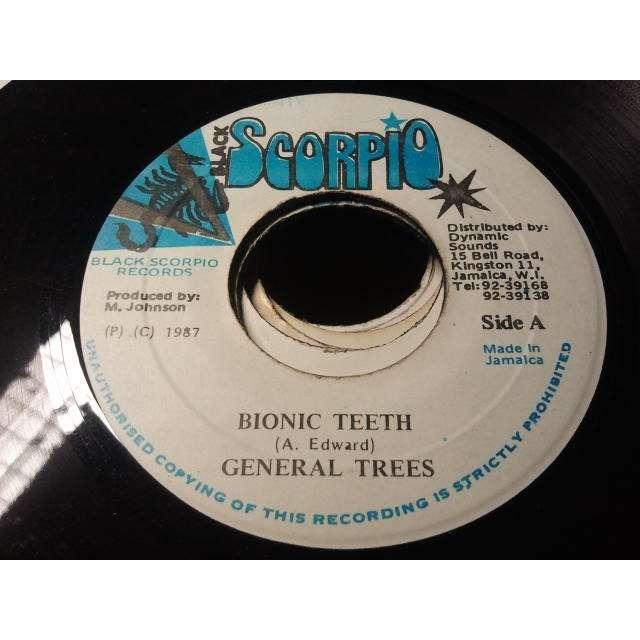 GENERAL TREES / RIDDIM KING PLAYER BIONIC TEETH / VERSION ORIG.