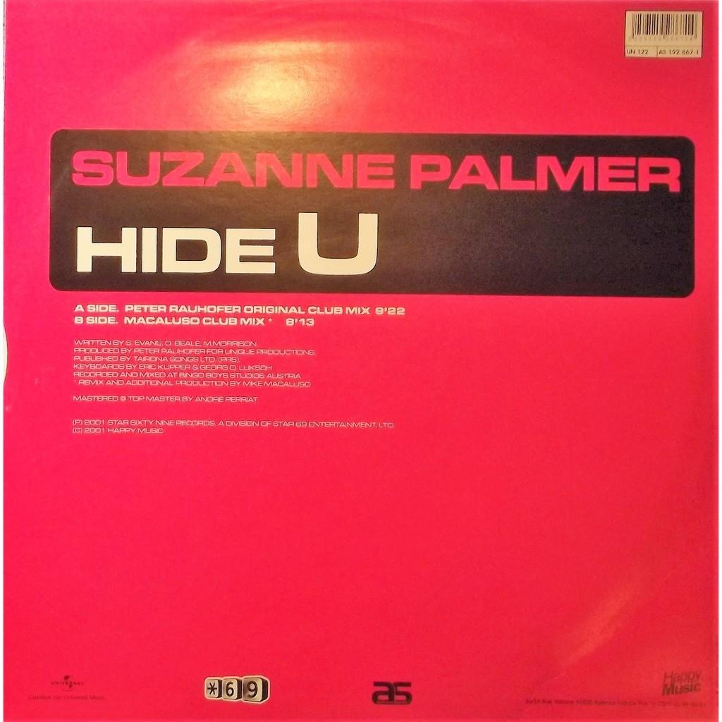 Suzanne palmer hide u