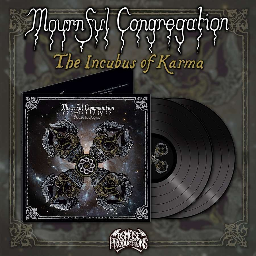 MOURNFUL CONGREGATION The Incubus of Karma. Black Vinyl