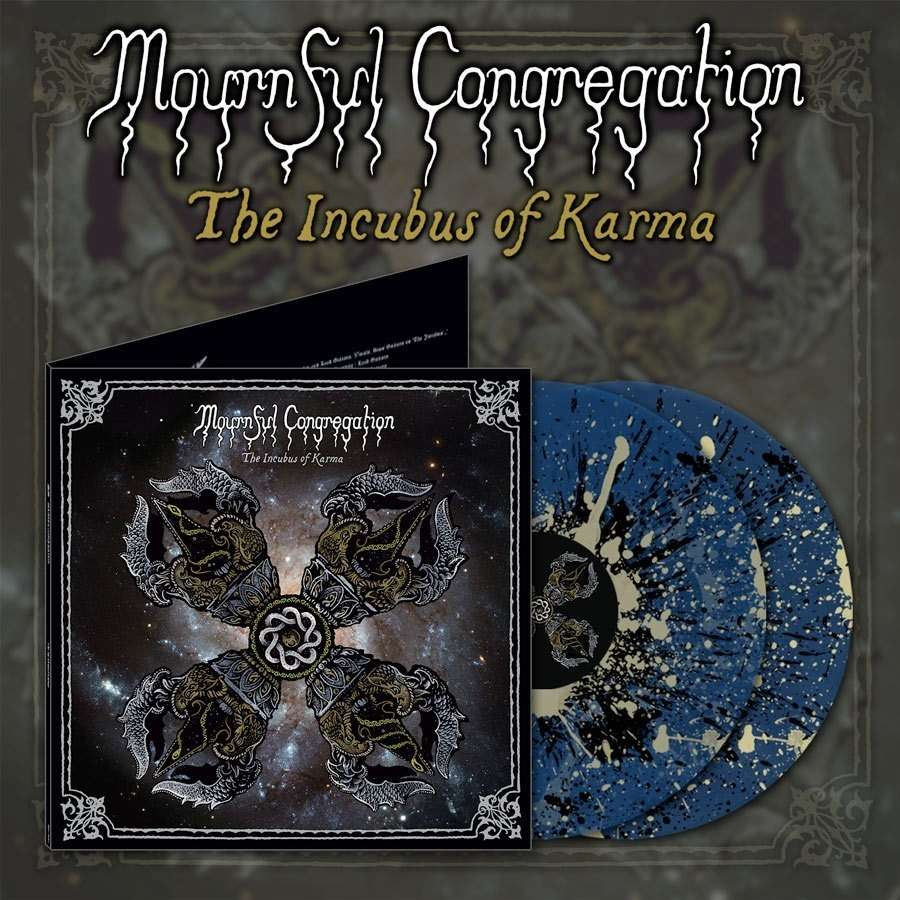 MOURNFUL CONGREGATION The Incubus of Karma. Splatter Vinyl