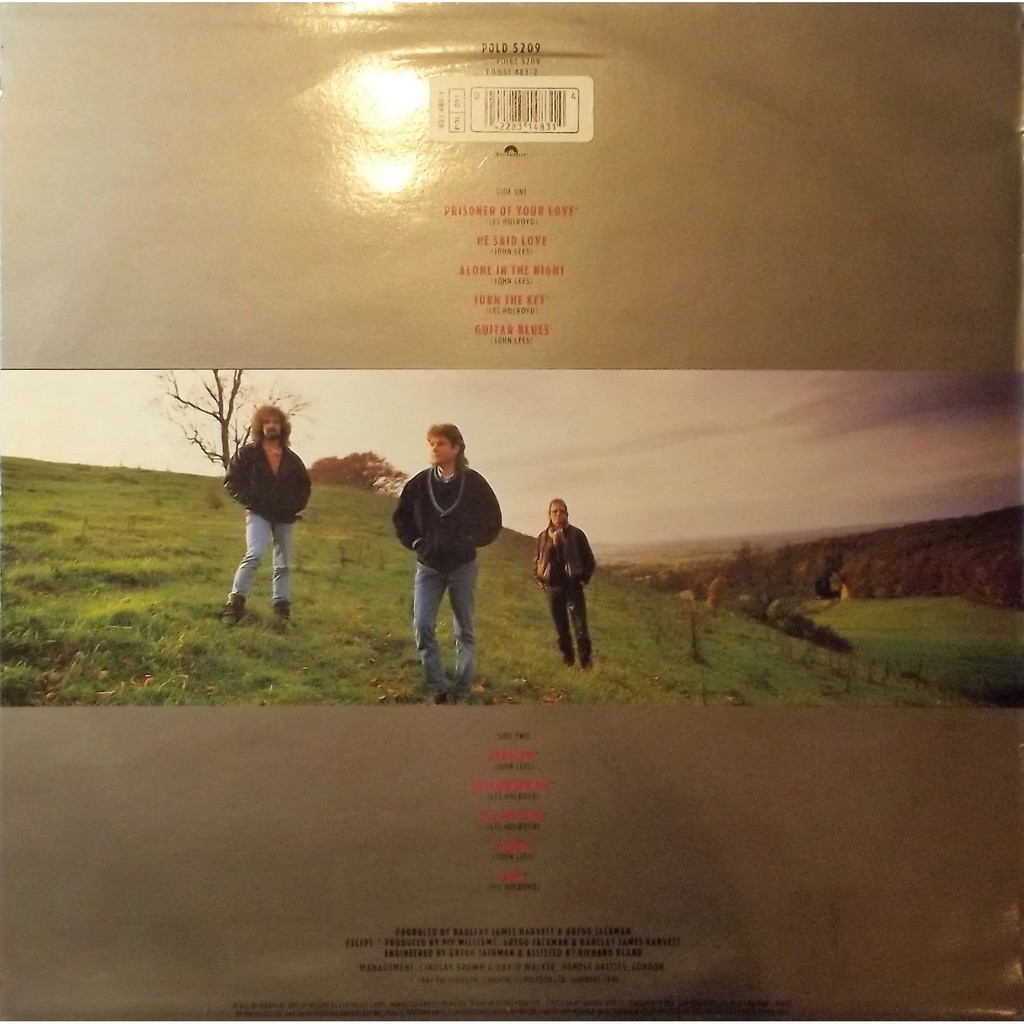 Barclay james harvest face to face