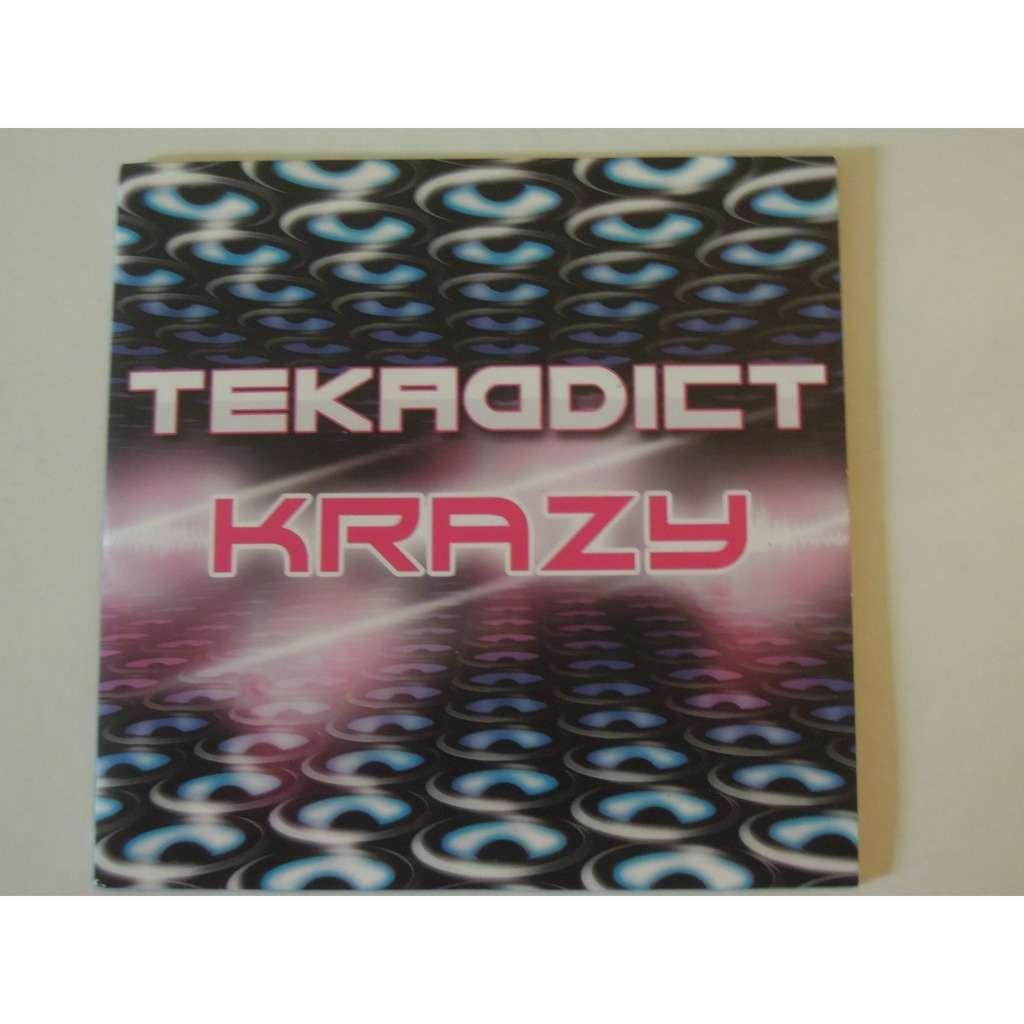 tekaddict krazy promo 5 tracks