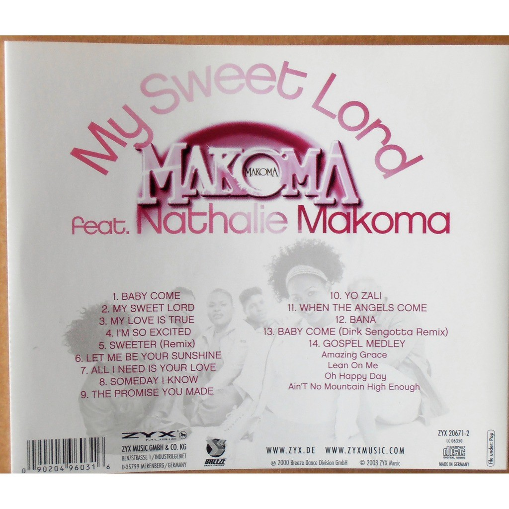 Makoma My Sweet Lord