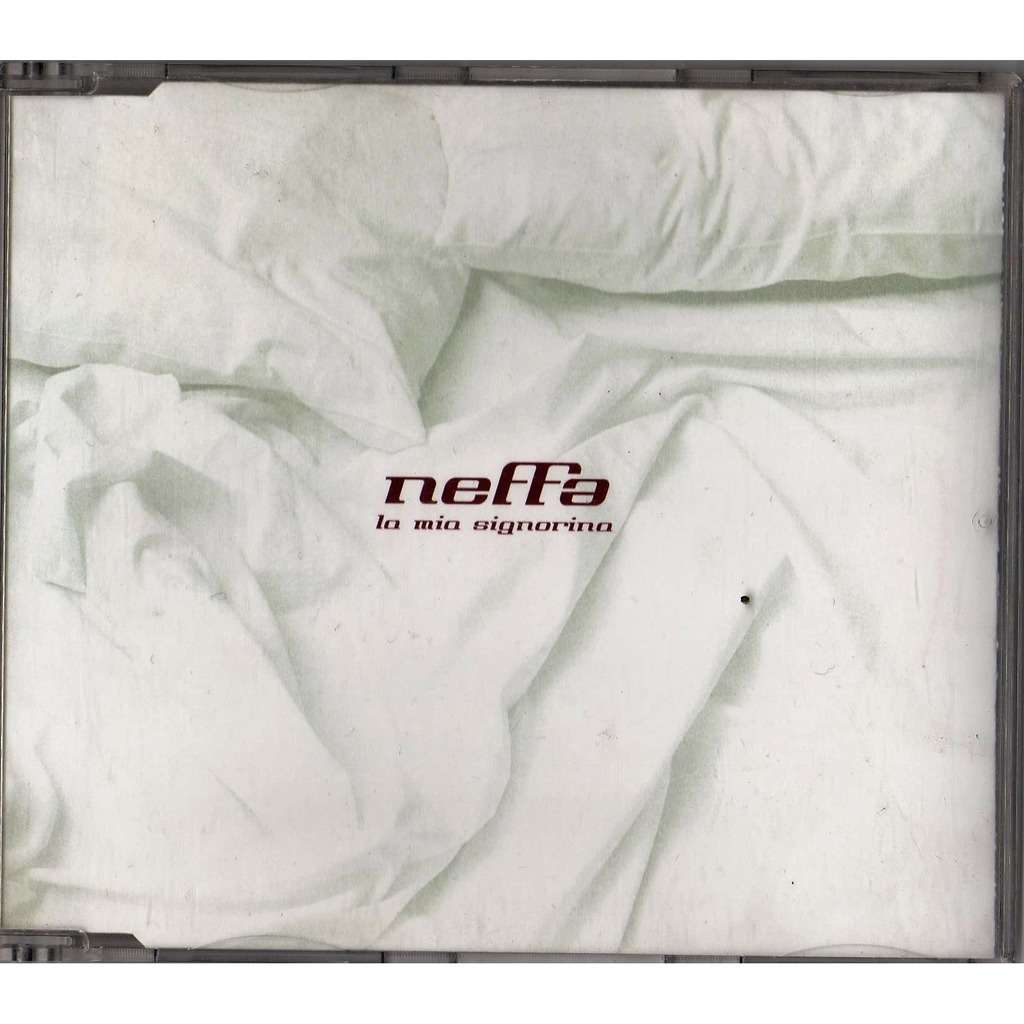 Neffa La Mia Signorina (Italian 2001 Ltd 3-trk CD full ps)