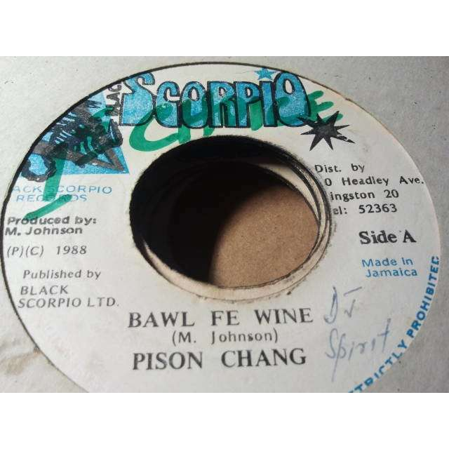 PISON (POISON) CHANG / STEELIE & CLEEVIE BAWL FE WINE / VERSION ORIG.