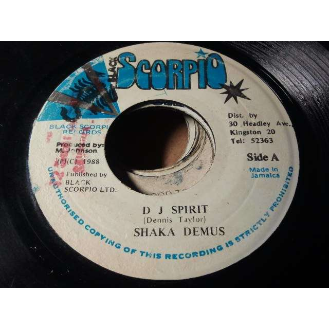 SHAKA DEMUS DJ SPIRIT / VERSION ORIG.