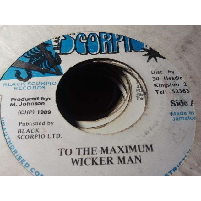 WICKER MAN / STEELY & CLEVIE TO THE MAXIMUM / RHYTHM TRACKS ORIG.