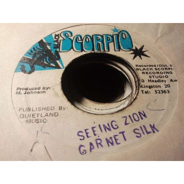 GARNET SILK SEEING ZION / VERSION ORIG.