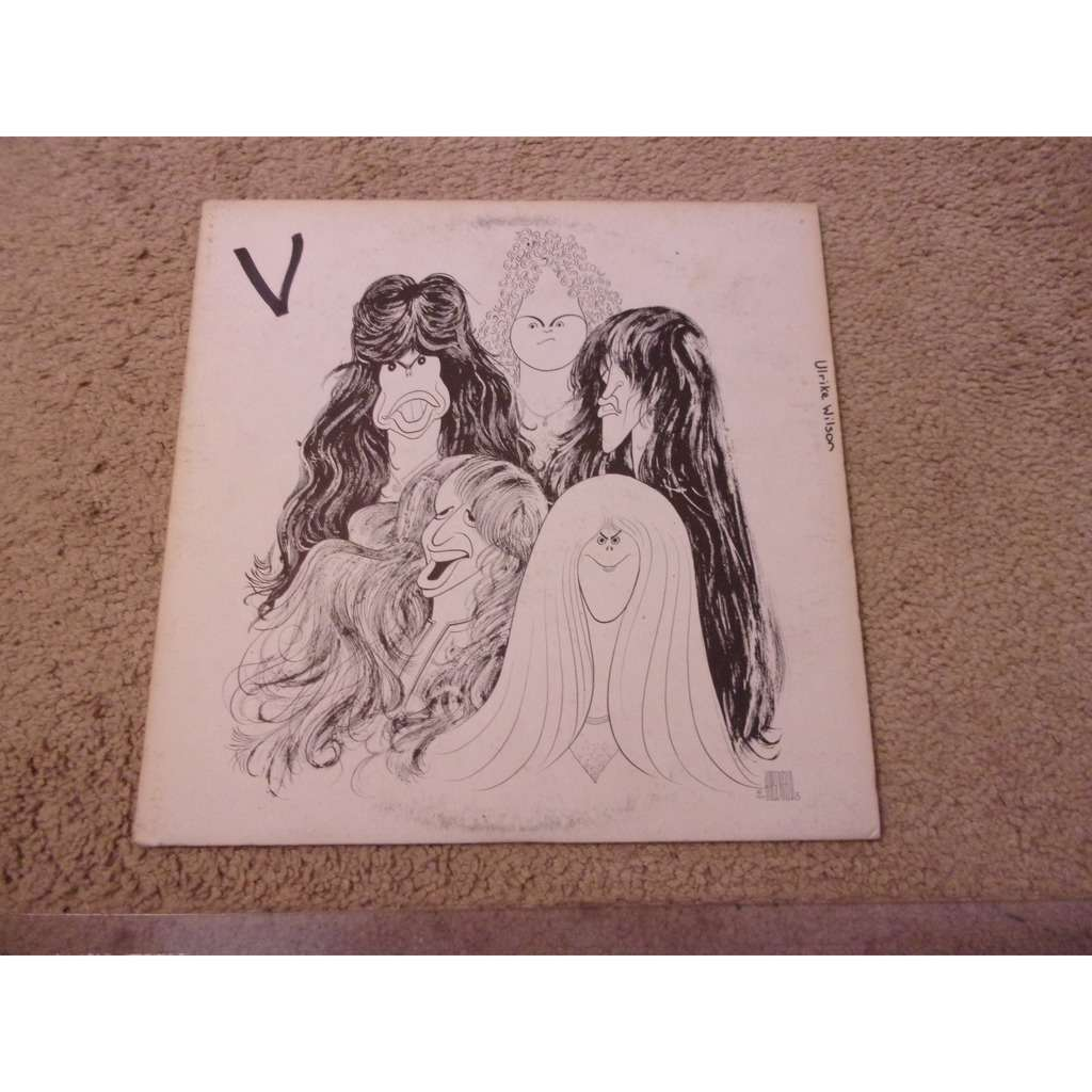 Draw The Line By Aerosmith Lp With Celt007 Ref 119040606